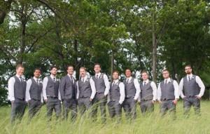 11 Groomsmen