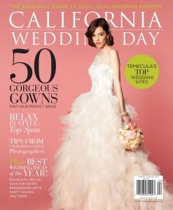 California Wedding Day 2014 Spring Summer Cover