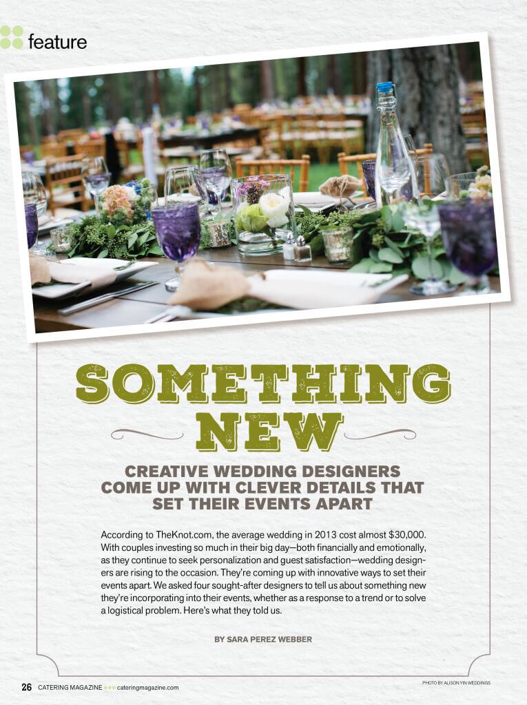 Catering Magazine - 2014 pg 1