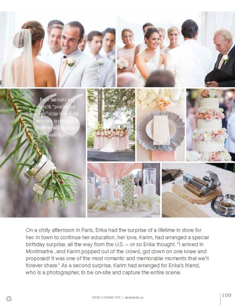 Lake Tahoe Weddings, Peach-n-Cream Wedding, Destination I Do Magazine, Merrily Wed Lake Tahoe Wedding