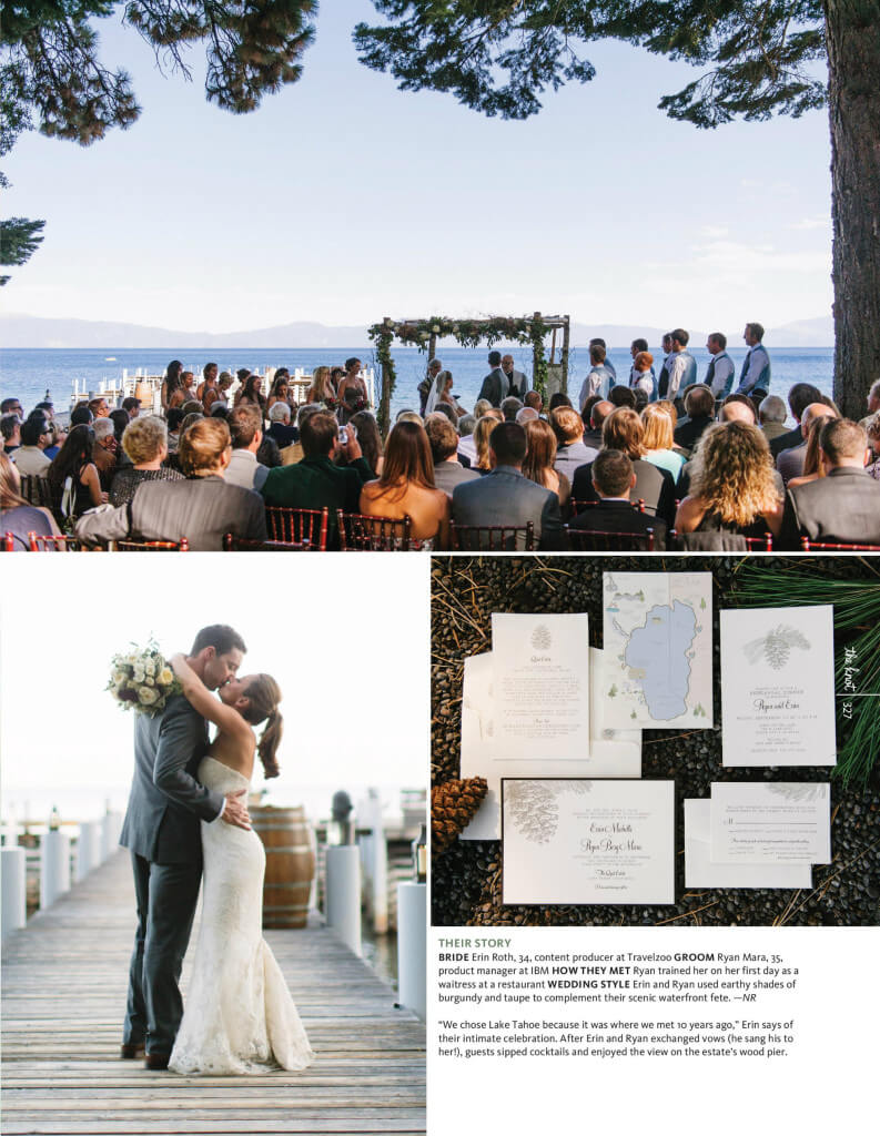 Lake Tahoe Wedding, Merrily Wed Wedding Planning, Lake Tahoe Wedding Planner, the knot California Magazine Weddings, Destination Weddings